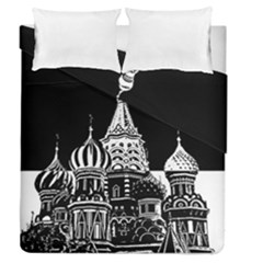 Moscow Duvet Cover Double Side (queen Size)