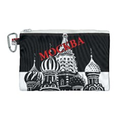Moscow Canvas Cosmetic Bag (large)