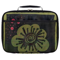Flower Spitting Out Pink Pollen Full Print Lunch Bag