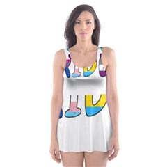 Pride Skater Dress Swimsuit