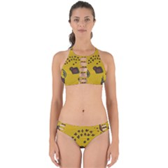 Hairdryer Easter Egg Perfectly Cut Out Bikini Set