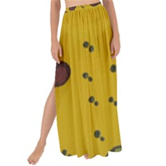 Swimming Worms Maxi Chiffon Tie Up Sarong