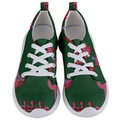 Floating Strawberries Women s Lightweight Sports Shoes