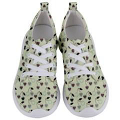 Heart Cherries Mint Women s Lightweight Sports Shoes