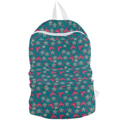 Teal Hats Foldable Lightweight Backpack