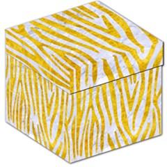 Skin4 White Marble & Yellow Marble Storage Stool 12