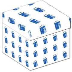Milk Carton Storage Stool 12