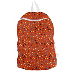Red Retro Dots Foldable Lightweight Backpack