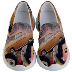 Out In The City Kid s Lightweight Slip Ons