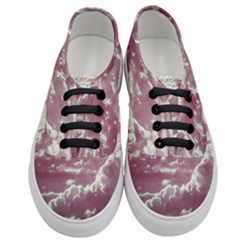 In The Clouds Pink Women s Classic Low Top Sneakers