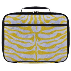 Skin2 White Marble & Yellow Colored Pencil (r) Full Print Lunch Bag