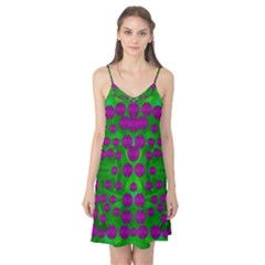 The Pixies Dance On Green In Peace Camis Nightgown