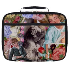 Victorian Collage Full Print Lunch Bag