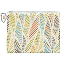 Decorative  Seamless Pattern Canvas Cosmetic Bag (xxl)