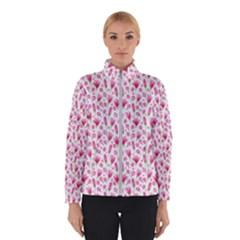 Watercolor Spring Flowers Pattern Winterwear