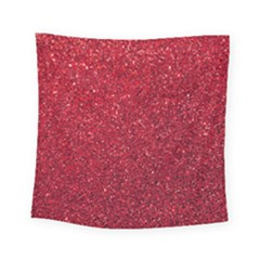 Red  Glitter Square Tapestry (small)