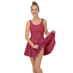 Red  Glitter Inside Out Dress