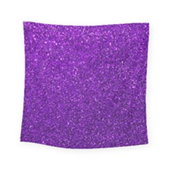 Purple  Glitter Square Tapestry (small)
