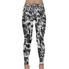 Grey Camo Classic Yoga Leggings