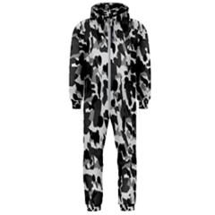 Grey Camo Hooded Jumpsuit (men)