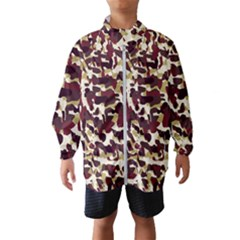 Red Camo Wind Breaker (kids)