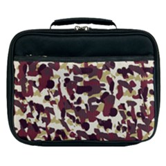 Red Camo Lunch Bag