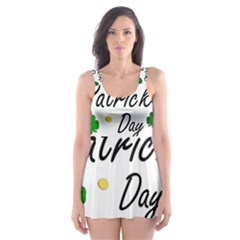 St Patricks Leprechaun Skater Dress Swimsuit