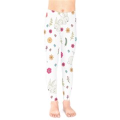 Easter Bunny  Kids  Legging