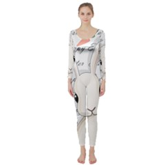 Easter Bunny  Long Sleeve Catsuit