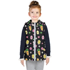 Easter Kawaii Pattern Kid s Puffer Vest