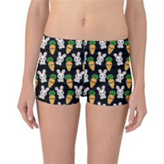 Easter Kawaii Pattern Reversible Boyleg Bikini Bottoms