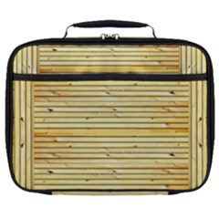 Wood Texture Background Light Full Print Lunch Bag