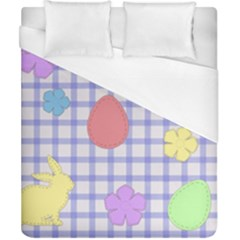 Easter Patches  Duvet Cover (california King Size)