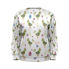 Easter Pattern Women s Sweatshirt