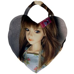 Mary Giant Heart Shaped Tote
