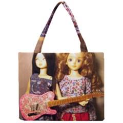 Playing The Guitar Mini Tote Bag