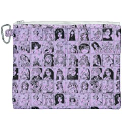 Lilac Yearbok Canvas Cosmetic Bag (xxxl)