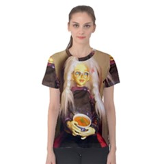 Eating Lunch Women s Cotton Tee