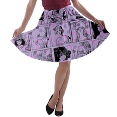 Lilac Yearbook 1 A Line Skater Skirt