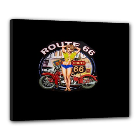 Route 66 Canvas 20  X 16