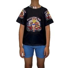 Route 66 Kids  Short Sleeve Swimwear