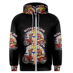 Route 66 Men s Zipper Hoodie