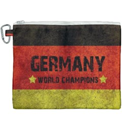 Football World Cup Canvas Cosmetic Bag (xxxl)