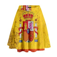 Football World Cup High Waist Skirt