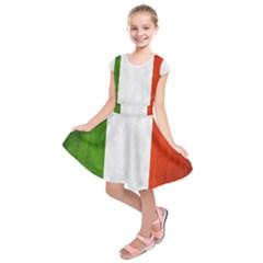 Football World Cup Kids  Short Sleeve Dress