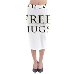 Freehugs Midi Pencil Skirt