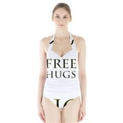 Freehugs Halter Swimsuit