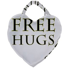 Freehugs Giant Heart Shaped Tote