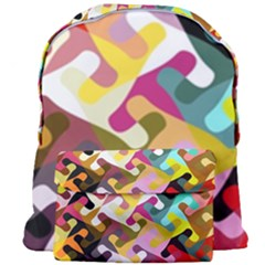 Colorful Shapes                           Giant Full Print Backpack
