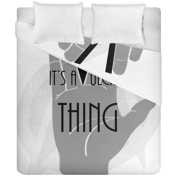It s A Vulcan Thing Duvet Cover Double Side (California King Size)